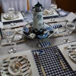 La maison de la table