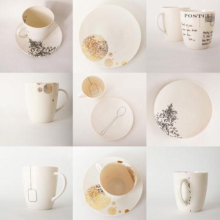 Jolie vaisselle design en image for Arts de la table pas cher
