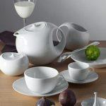 Service de table porcelaine blanche