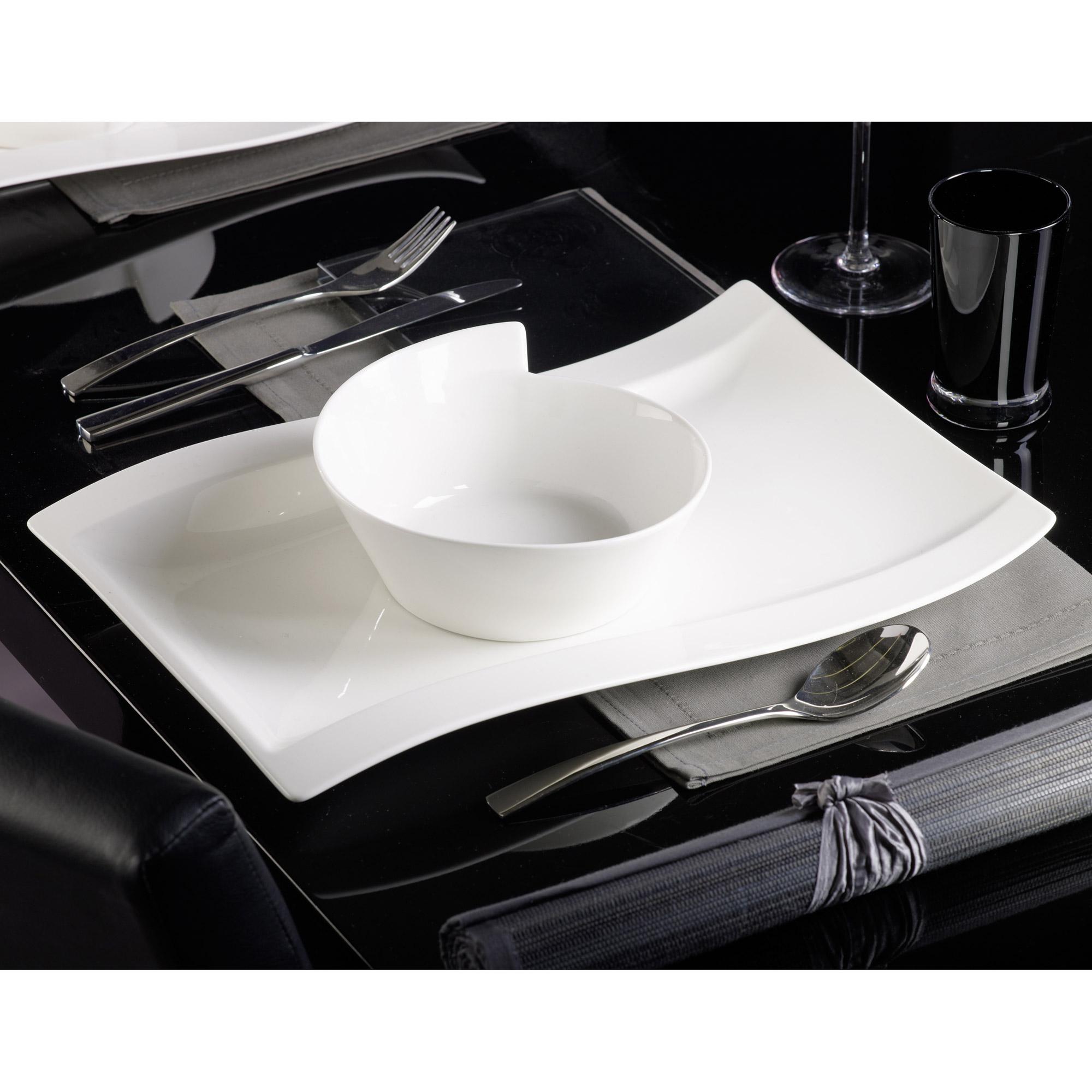 ec91d7b5c805b Assiette de table design service vaisselle 18 pièces