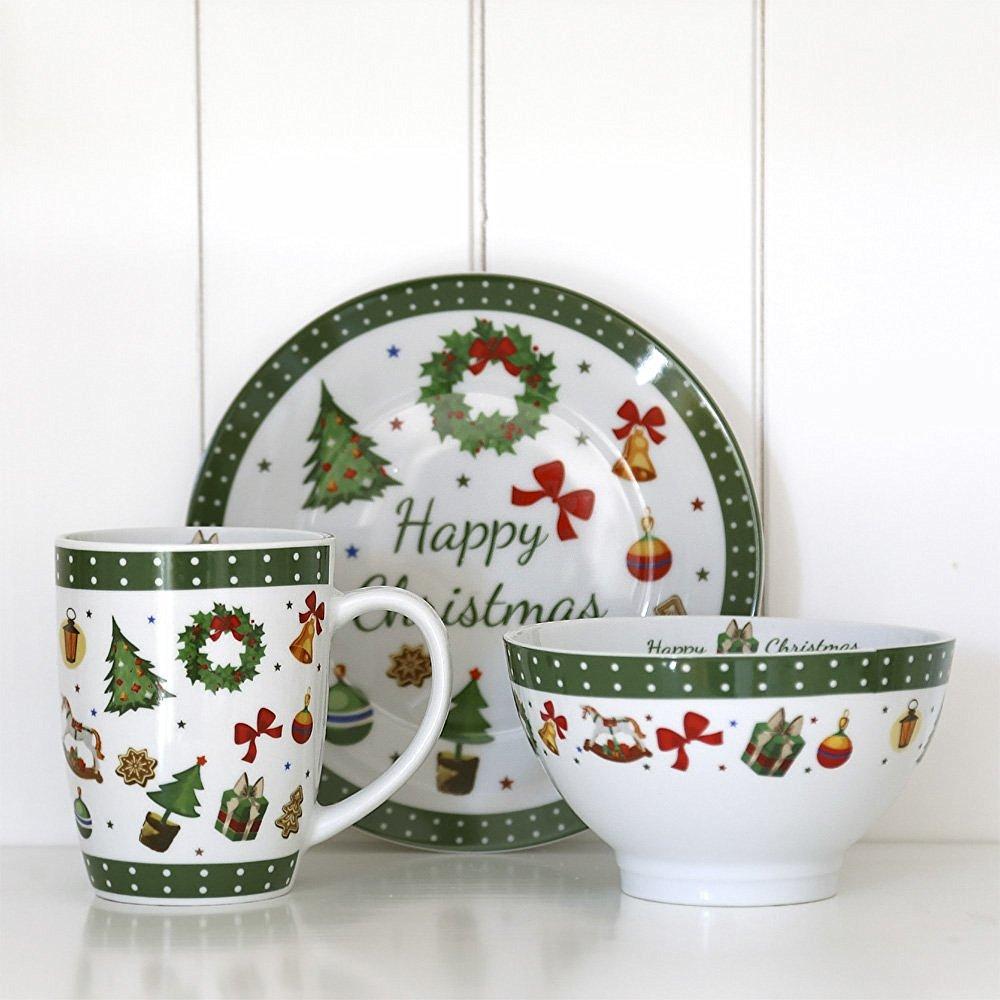 Set de vaisselle de noel design en image for Vaisselle pas cher design