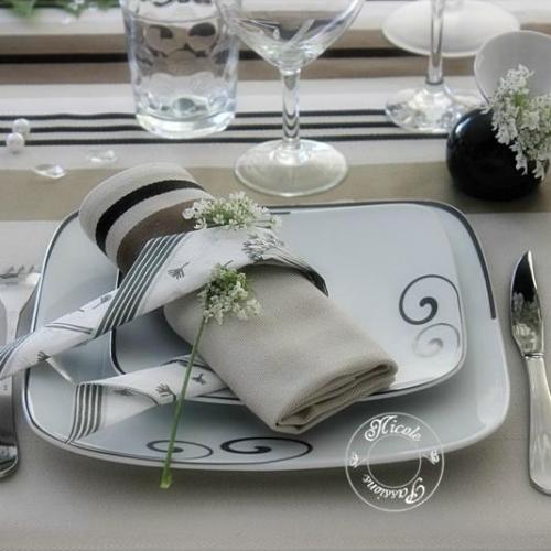 Vaisselle service de table complet design en image for Arts de la table pas cher
