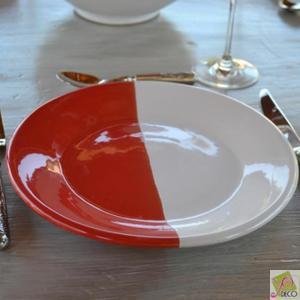 assiette rouge pas cher design en image. Black Bedroom Furniture Sets. Home Design Ideas