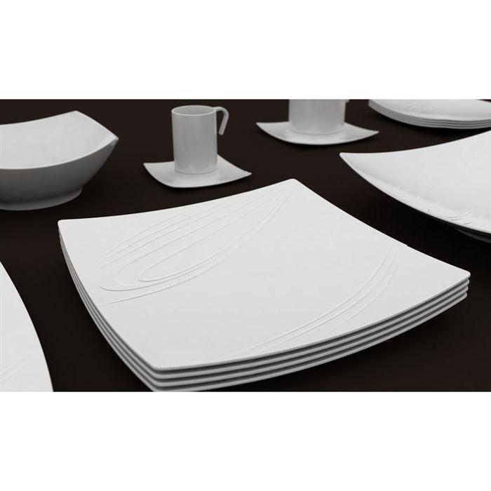 Amazing Service Assiette Design Pas Cher #9: Assiette Creuse Moins ...