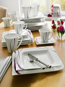 Vaisselle moderne original design en image - Assiette originale moderne ...