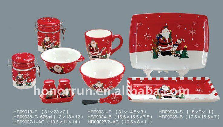Vaisselle noel design en image for Vaisselle de table pas cher