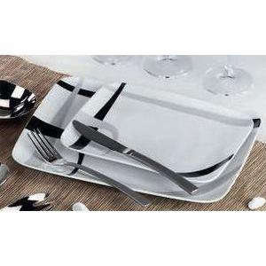 Service assiette noir et blanc design en image - Service vaisselle pas cher ...