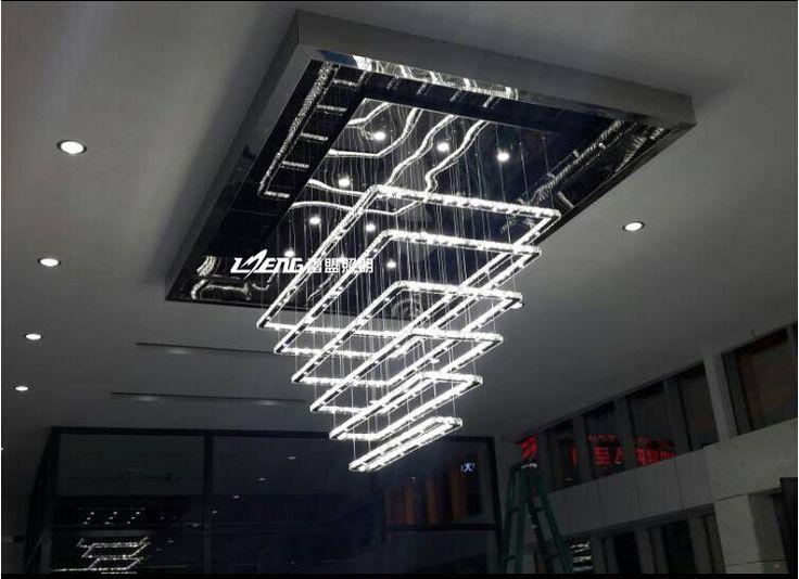 Lustre contemporain salon design en image for Lustre salon contemporain