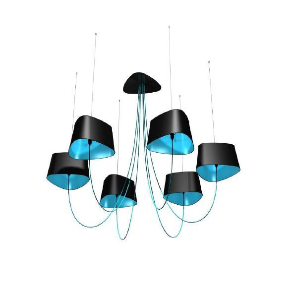 lustre bleu turquoise design en image. Black Bedroom Furniture Sets. Home Design Ideas