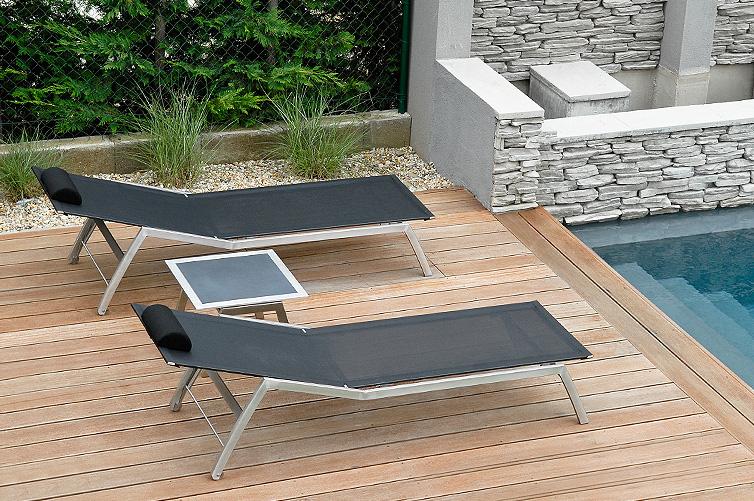 Bain soleil piscine design en image for Ou trouver une piscine pas cher