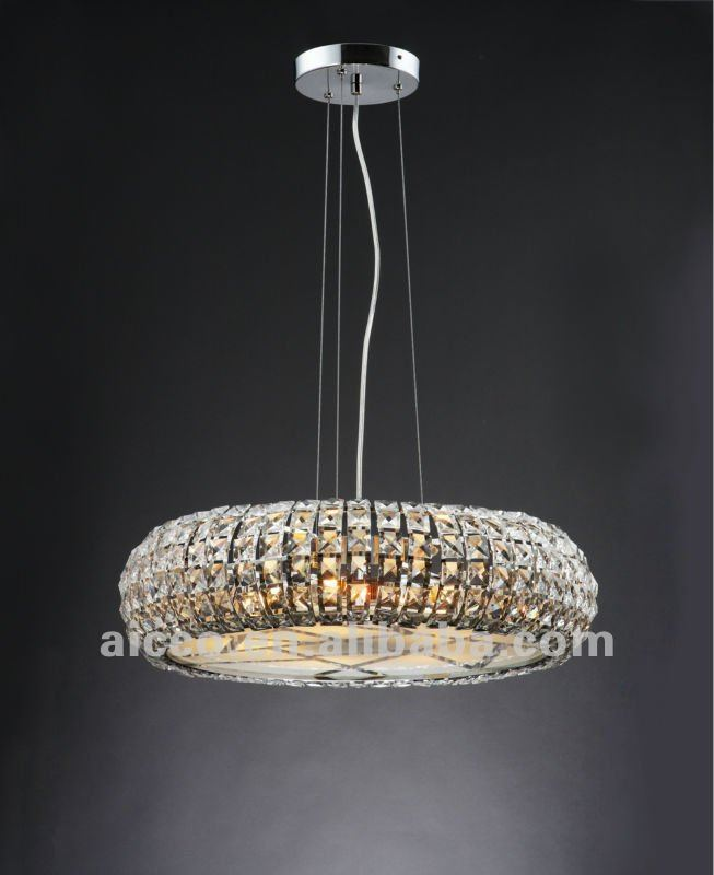 Lustre cristal moderne suspension design en image for Lustre suspension design