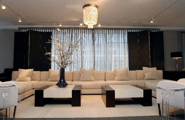 Decoration moderne pour salon design en image for Decoration de petit salon moderne