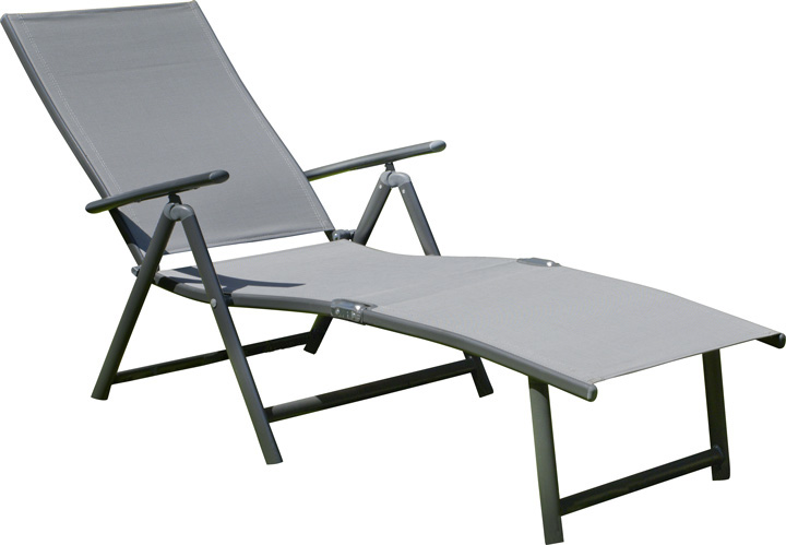 Bain de soleil aluminium pliable design en image for Meilleure chaise longue