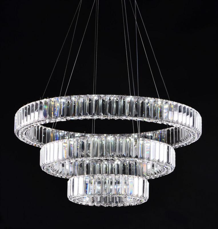 lustre cristal moderne - design en image
