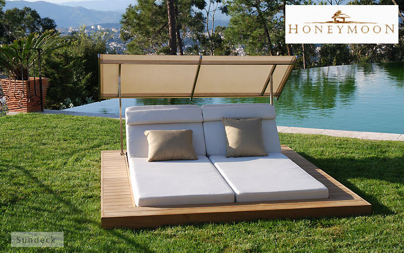Transat double jardin design en image for Transat design piscine