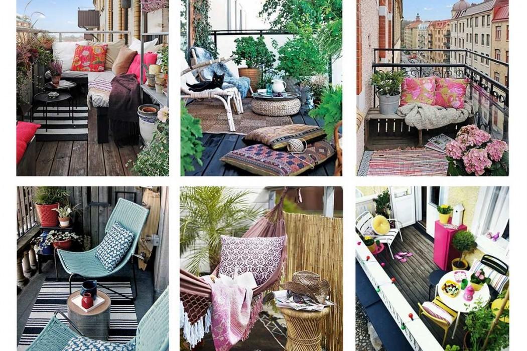 petit transat balcon design en image. Black Bedroom Furniture Sets. Home Design Ideas