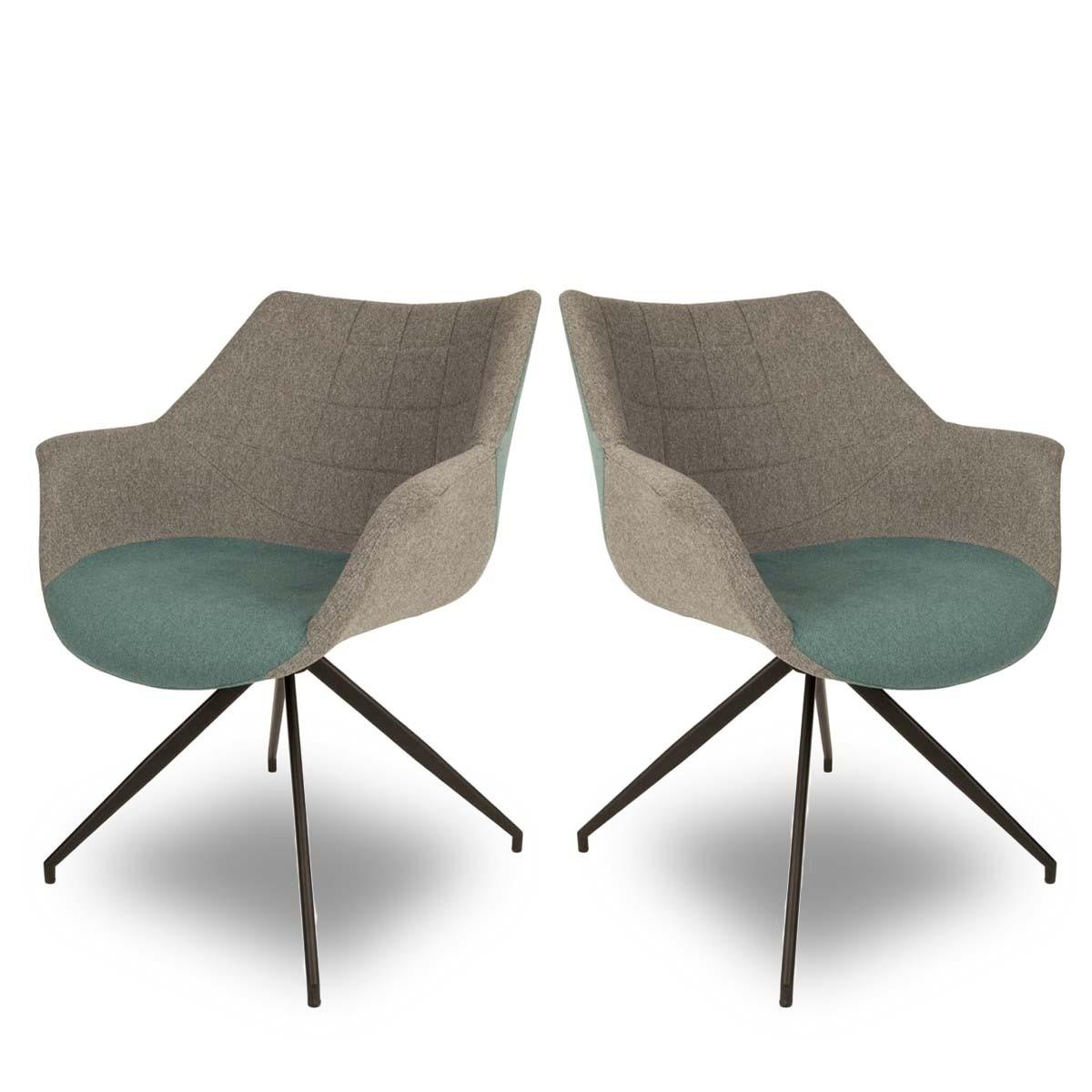 Lot de 2 fauteuils design Doulton Bleu Résultat Supérieur 50 Beau Chaise Fauteuil Design Pas Cher Photographie 2017 Zat3