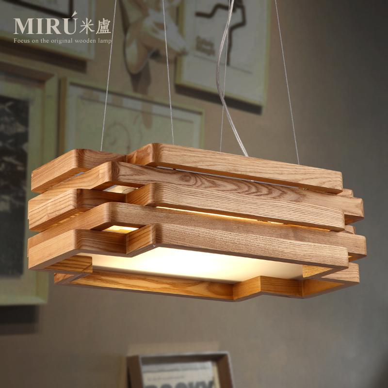 Lustre en bois design design en image - Lustre en bois ...