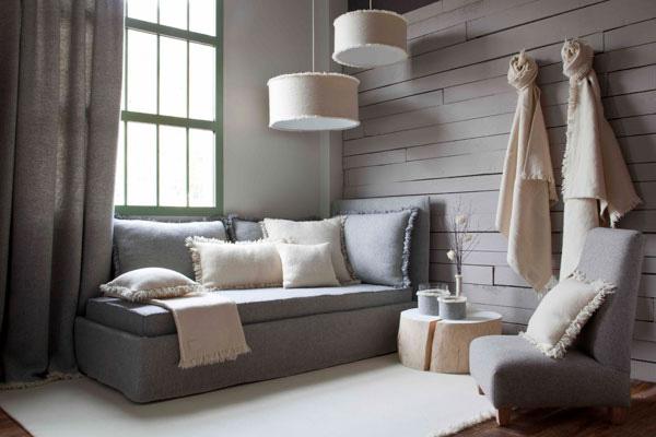 Abat jour plafond chambre design en image for Idee deco salon chaleureux