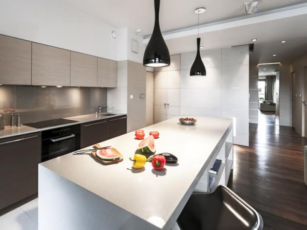 Deco cuisine design cuisine en bois moderne | Cuisines francois