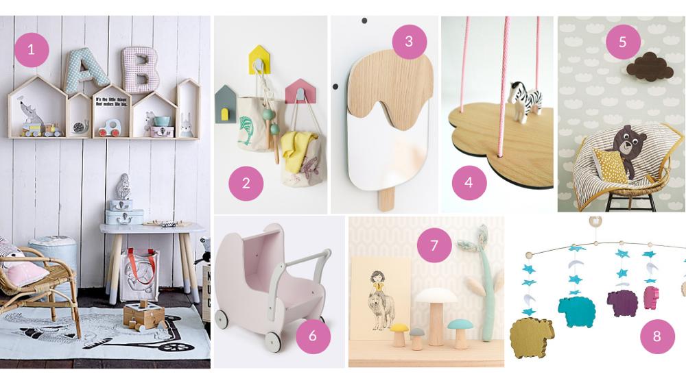 Objet deco chambre design en image for Objet de decoration