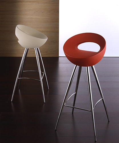 Tabouret bar fixe design en image for Tabouret de bar design pas cher