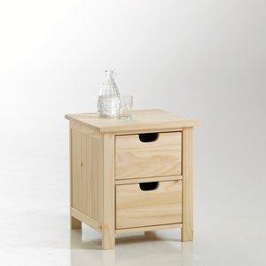 chevet pin brut design en image. Black Bedroom Furniture Sets. Home Design Ideas