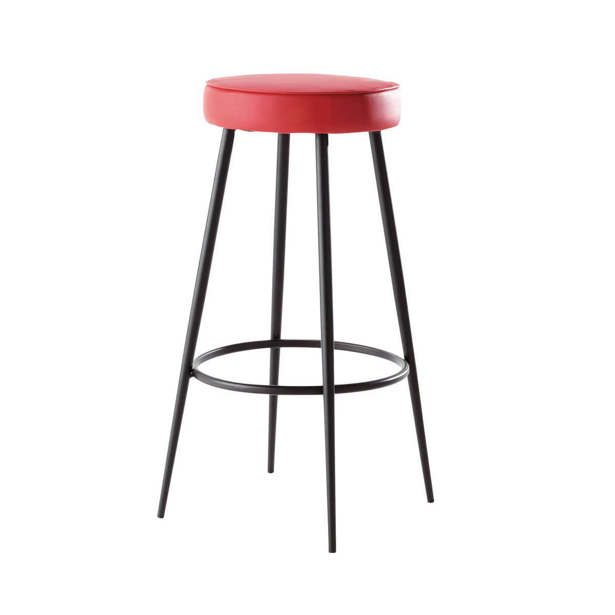 tabouret bar rouge design en image. Black Bedroom Furniture Sets. Home Design Ideas