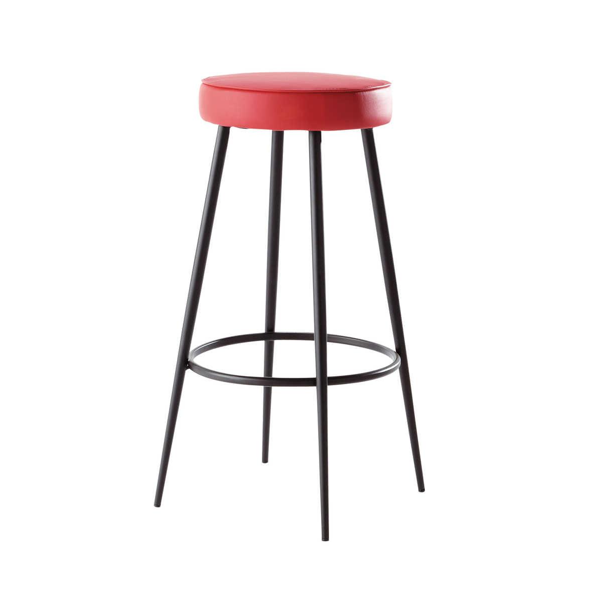 tabouret bar rouge design en image. Black Bedroom Furniture Sets. Home Design Ideas