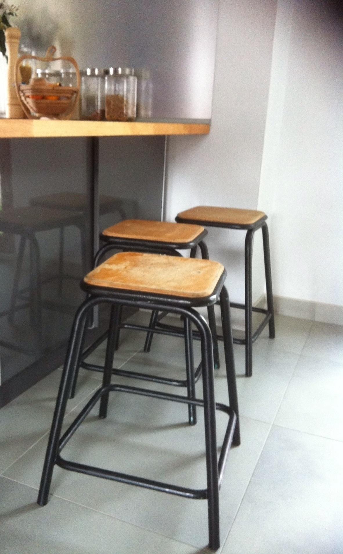 tabouret ilot design en image. Black Bedroom Furniture Sets. Home Design Ideas