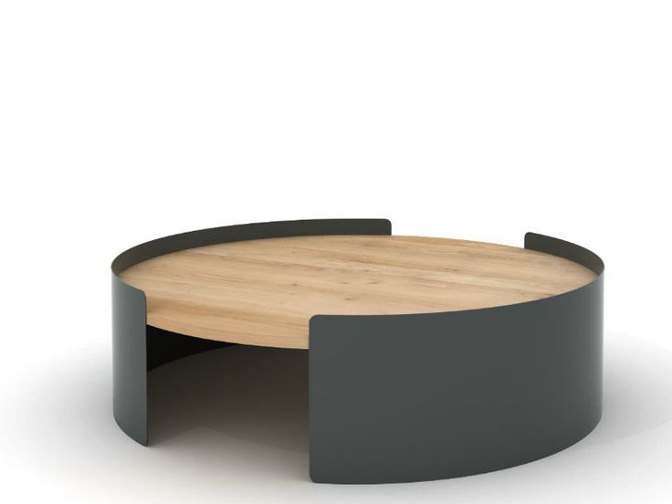Table basse ronde ou ovale design en image - Table basse ovale bois ...
