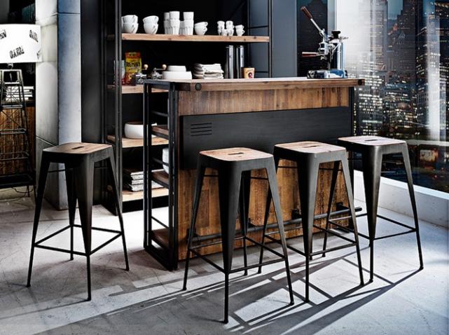 Bar et tabouret cuisine design en image - Bar de cuisine design ...