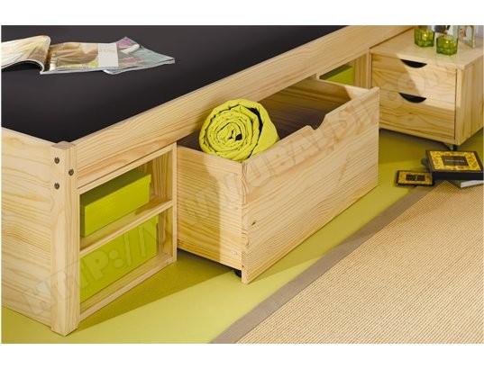 lit rangement 160x200 design en image. Black Bedroom Furniture Sets. Home Design Ideas