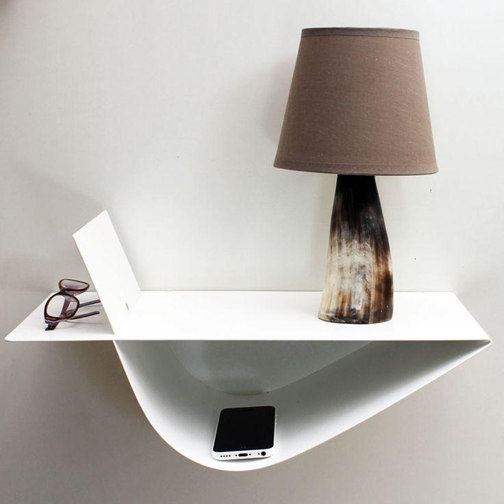 etagere murale table de chevet - design en image