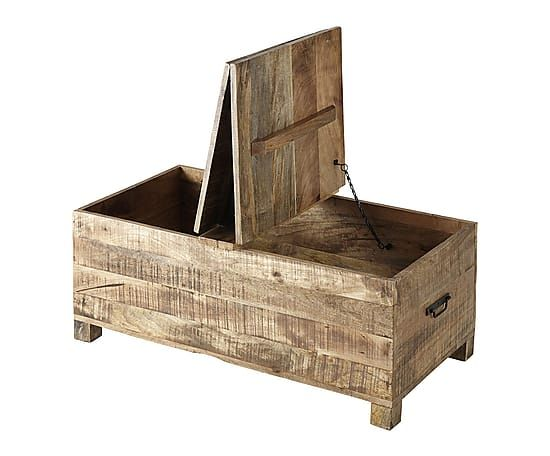 table basse coffre bois design en image. Black Bedroom Furniture Sets. Home Design Ideas