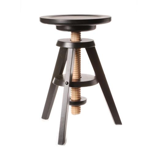 Tabouret r glable en hauteur bois design en image for Tabouret cuisine reglable hauteur