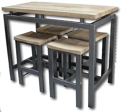 Tabouret table haute design en image for Table de bar pas cher