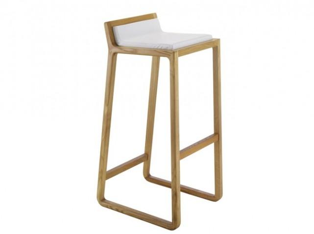 Tabouret bar en bois design en image - Fabriquer un tabouret de bar ...