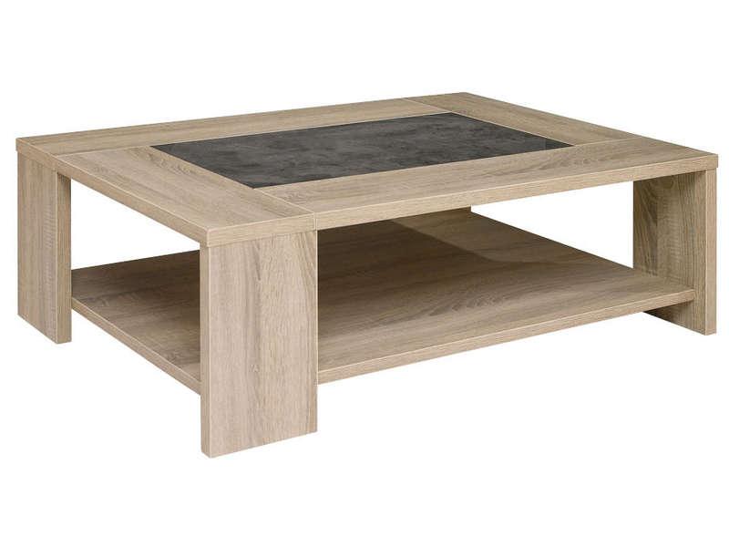Table de salon conforama design en image - Table basse en bois conforama ...