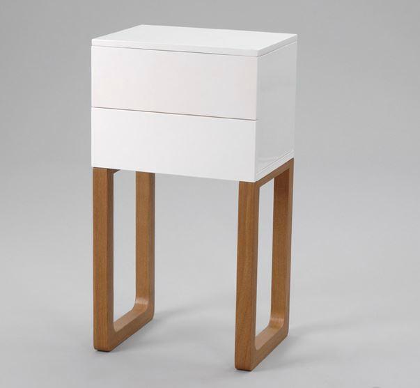 Table de nuit 30 cm - Design en image