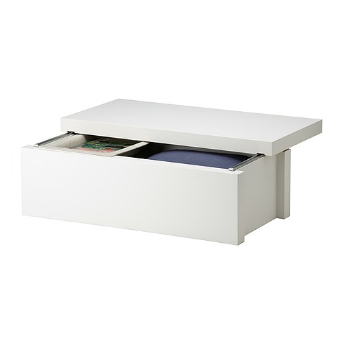 Chevet suspendu ikea design en image - Table de chevet suspendu ...