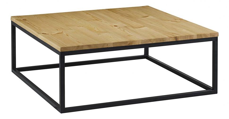 table basse metal et bois design en image. Black Bedroom Furniture Sets. Home Design Ideas