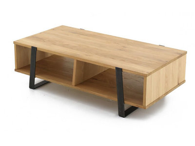 table basse metal et bois design en image. Black Bedroom Furniture Sets. Home Design Ideas