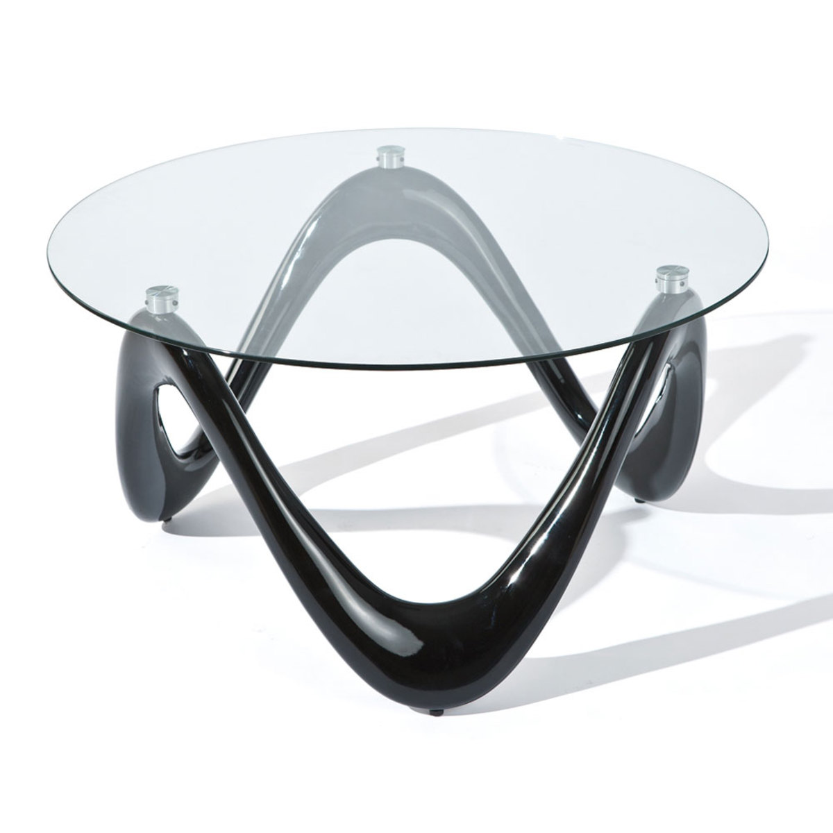 Table Basse Verre Ronde Design En Image