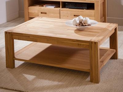table de salon en bois design en image. Black Bedroom Furniture Sets. Home Design Ideas