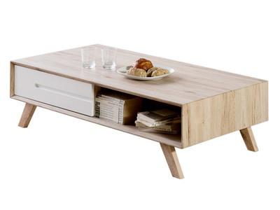table basse en bois - design en image