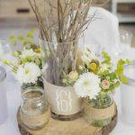 Decoration chaise mariage fait maison champetre