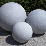 Boule ceramique decoration jardin