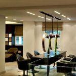 Decoration salon open space