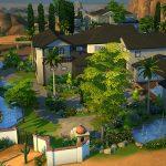 Sims 4 décoration jardin